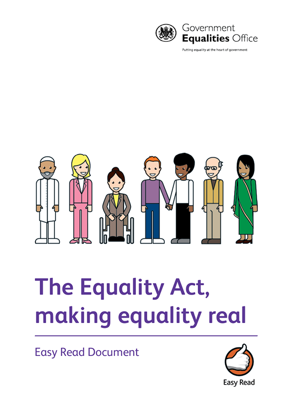 Equality Act 2010 booklet